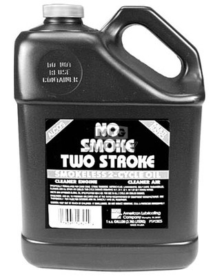 32-10675 - Smoke Free 2-cycle Engine Oil. 1 gallon.