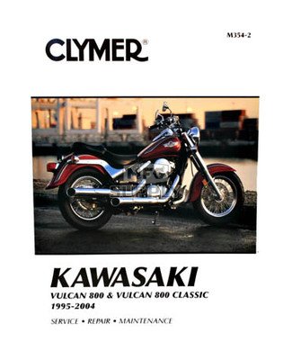 CM354 - 95-05 Kawasaki Vulcan 800, 800 Classic Repair & Maintenance manual