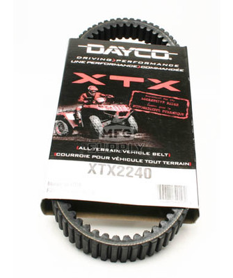 XTX2240 - Kawasaki Dayco XTX (Xtreme Torque) Belt. Fits 08 and newer Teryx 750cc models.