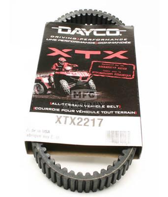 XTX2217-W2 - Arctic Cat Dayco  XTX (Xtreme Torque) Belt. Fits 650 V2 models.