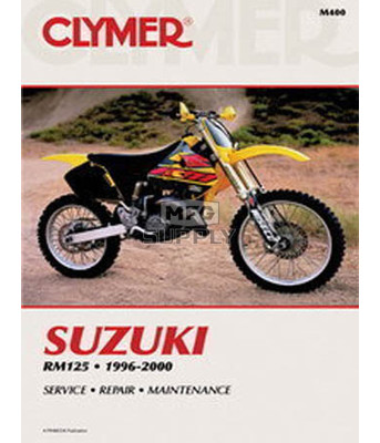 CM400 - 96-00 Suzuki RM125 Repair & Maintenance manual