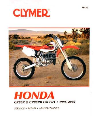 CM435 - 97-02 Honda CR80R & CR80RB Expert Repair & Maintenance manual