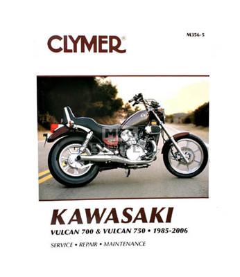 CM356 - 85-06 Kawasaki Vulcan 700 & 750 Repair & Maintenance manual