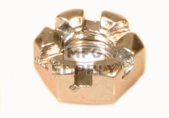 AZ8527 - Hex Nut - Slotted 1/4-28