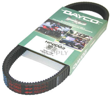 HP2002 - Dayco High Performance ATV Belt. Fits many 00-05 models of Polaris Sportsman 500 HO and Magnum 500.