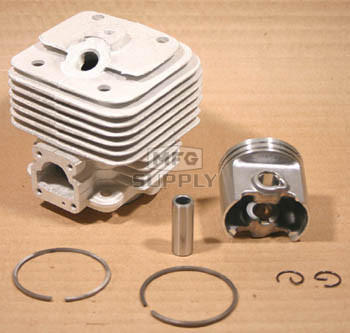 44227 - Stihl 08, TS350 & TS360 AVSE Cylinder & Piston Assembly.