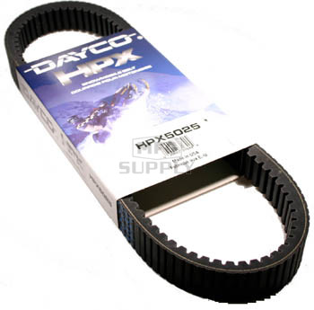 HPX5025 - Dayco High Performance Extreme Snowmobile Belt for High Performance Ski-Doo.
