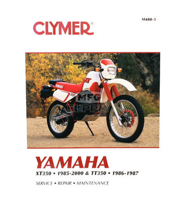 CM480 - 85-00 Yamaha XT350 & 86-87 TT350 Repair & Maintenance manual