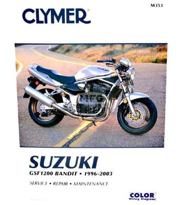 CM353 - 96-03 Suzuki GSF1200 Bandit Repair & Maintenance manual