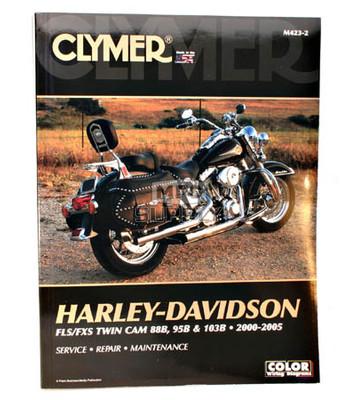 CM423 - 00-05 Harley Davidson FLS, FXS Twin Cam 88 & 103B Repair & Maintenance manual