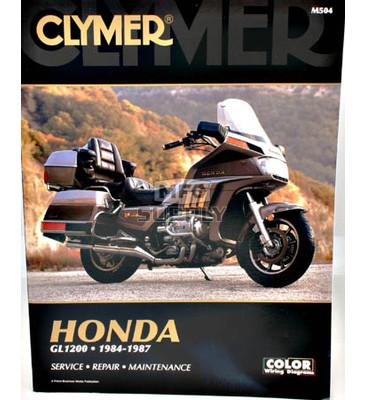 CM504 - 84-87 Honda GL1200 Gold Wing Repair & Maintenance manual