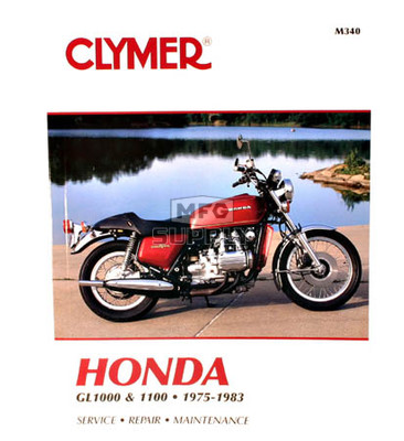 CM340 - 75-83 Honda GL1000 & GL1100 Gold Wing Repair & Maintenance manual