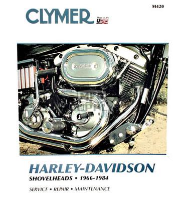 CM420 - 66-84 Harley Davidson Shovelheads Repair & Maintenance manual