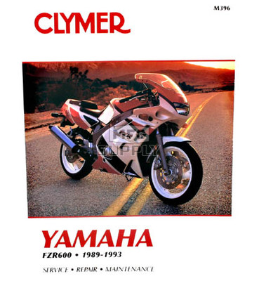 CM396 - 89-93 Yamaha FZR600 Repair & Maintenance manual