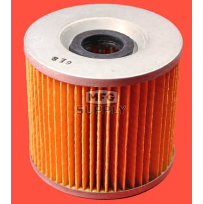 5703-0538 - Oil Filter Element for Suzuki GS, GR motorycles. W/O Oring
