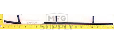 "510-422 - Ski-Doo Wearbar. Fits 85-96 Ski-Doo Steel Skis ""F"" Series. (Sold each.)"