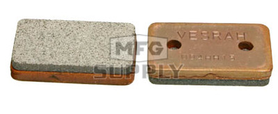 VD-966 - Arctic Cat Rear ATV Brake Pads. For Mechanic ATV Brakes.