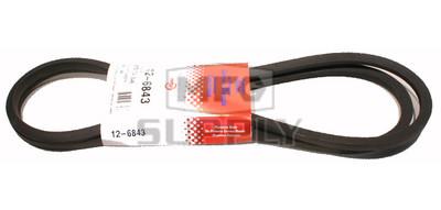 12-6843 - MTD 754-0349 & 954-0349 Deck Drive Belt