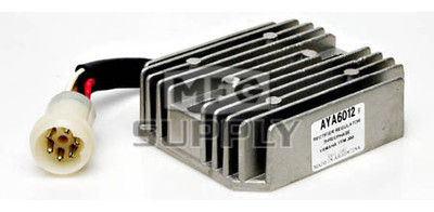 AYA6012 - Voltage Regulator for most 86-95 Yamaha ATVs with 350cc engines