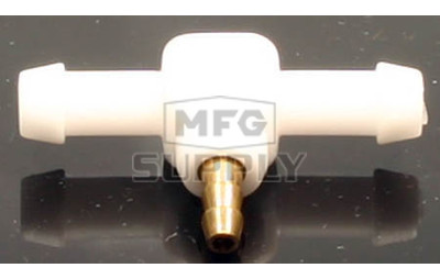"07-7161M - 3/16"" or 1/4"" T fitting,  1/8"" primer line fitting (metal primer fitting)"