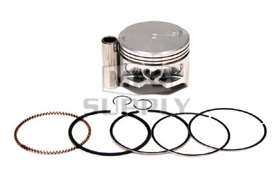 "50-223-04 - ATV .010"" (.25 mm) Piston Kit For '88-00 Honda TRX 300/FW"