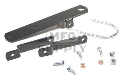 AT-12038 - Yamaha ATV Trailer Hitch. 04-newer Raptor, 89-04 YFM350 Warrior