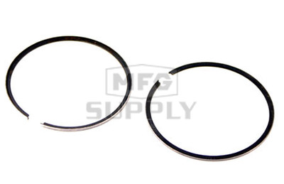 R09-689-1 - OEM Style Piston Rings. Arctic Cat 440cc twin Kawasaki engine. .010 oversized