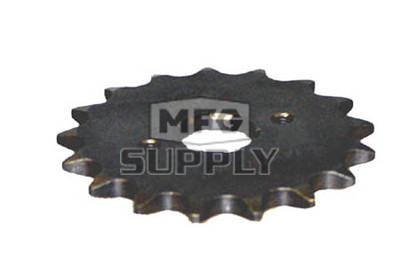 KS004895 - Yamaha ATV 17 tooth front sprocket. Fits Breeze, Tri-Moto, Warrior