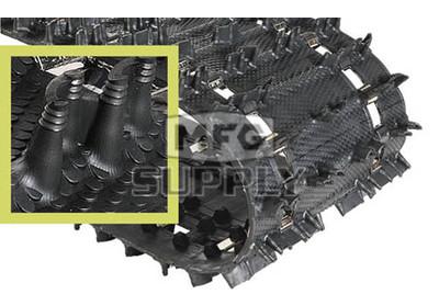 "9061H - 1.352"" Camoplast Hi-Performance Cobra Trail Track. 15"" x 136"""