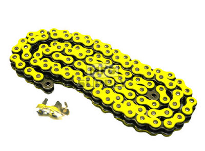520YL-ORING-92-W1 - Yellow 520 O-Ring Motorcycle Chain. 92 pins