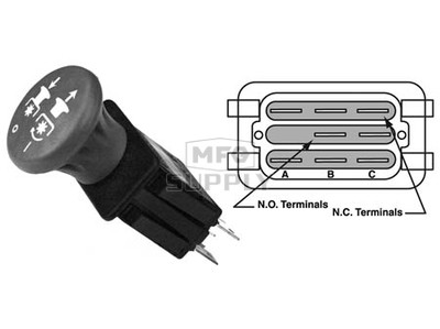 31-12624 - PTO Switch replaces Exmark 116-0124