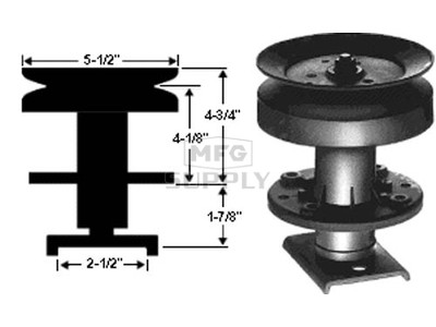 10-1171 - Quill Assembly Sears 677A233