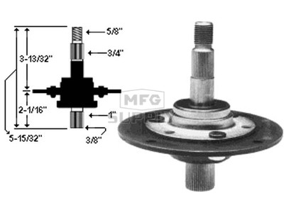 10-7155 - Spindle Assembly replaces MTD 917-0906