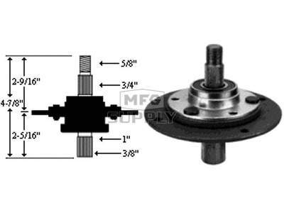 10-8967 - Spindle Assembly replaces MTD 917-0912