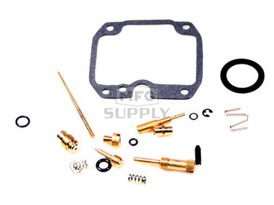 AT-07209 - Complete ATV Carb Rebuild Kit for Kawasaki 88-02 KLF220 Bayou