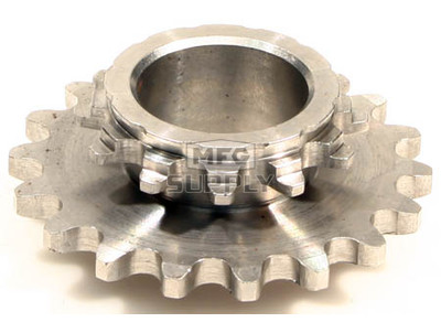 HI1835-P4 - # 9: 18 tooth, #35 replacement sprocket for Hilliard BLIZZARD Clutches
