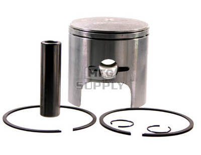 09-689-1 - OEM Style Piston assembly. Arctic Cat 440cc twin Kawasaki engine. .010 oversized