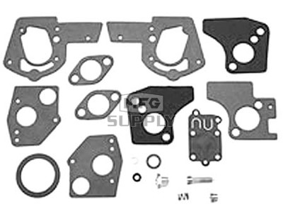 22-11140 - Carb Overhaul Kit replaces B&S 495606 & 494624.