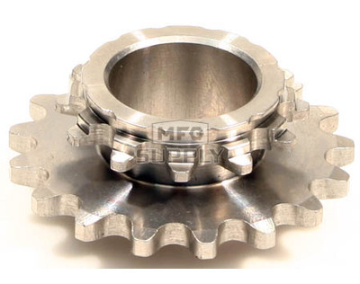 HI1735-W1 - # 8: 17 tooth, #35 replacement sprocket for Hilliard FURY Clutches