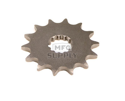 KS003419 - Yamaha ATV 14 tooth front sprocket. Fits 01-02 YFM660R Raptor