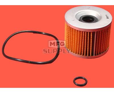 5703-0597 - Oil Filter Element for Honda & Kawasaki Motorcycles.