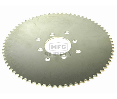 AZ2169-72 - 72 tooth steel sprocket, #35 chain