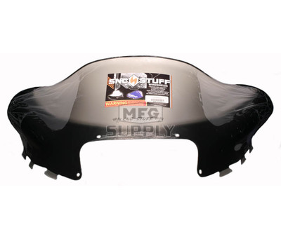 "479-111-03 - Arctic Cat Low 14"" Flared Windshield  Black Graphics on Smoke"
