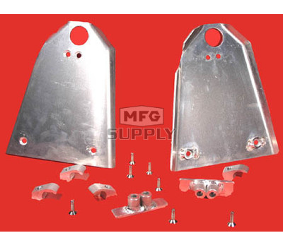 AT-04152 - Aluminum A-Arm Guard. Fits 99-00 Honda TRX400EX