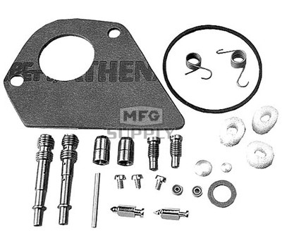 22-10936 - Carb Overhaul Kit replaces B&S 499220.