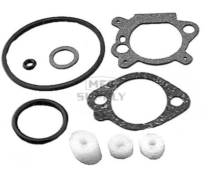 22-10931 - Carb Gasket Set replaces B&S 398183 & 498261.