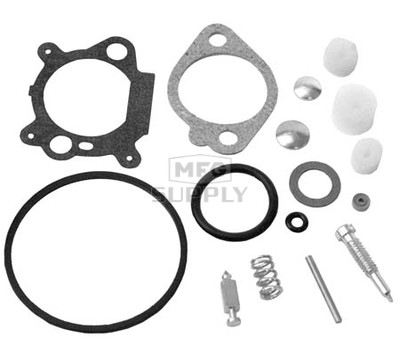 22-10237 - Carb Overhaul Kit Replaces B&S 498260.
