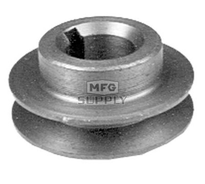 13-10768 - Scag Engine Pulley. Fits SW & SWU. Replaces 481666.