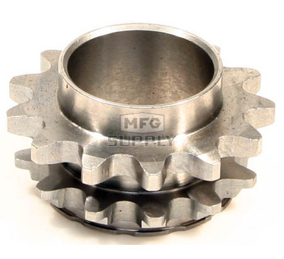 HI1335-W2 - # 10: 13 tooth, #35 replacement sprocket for Hilliard BLAZE Clutches