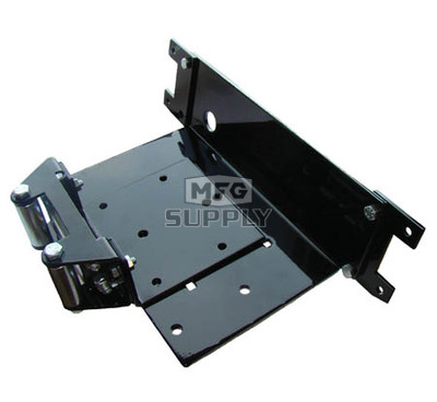 1601SW - Winch Mount Plate for Polaris ATVs